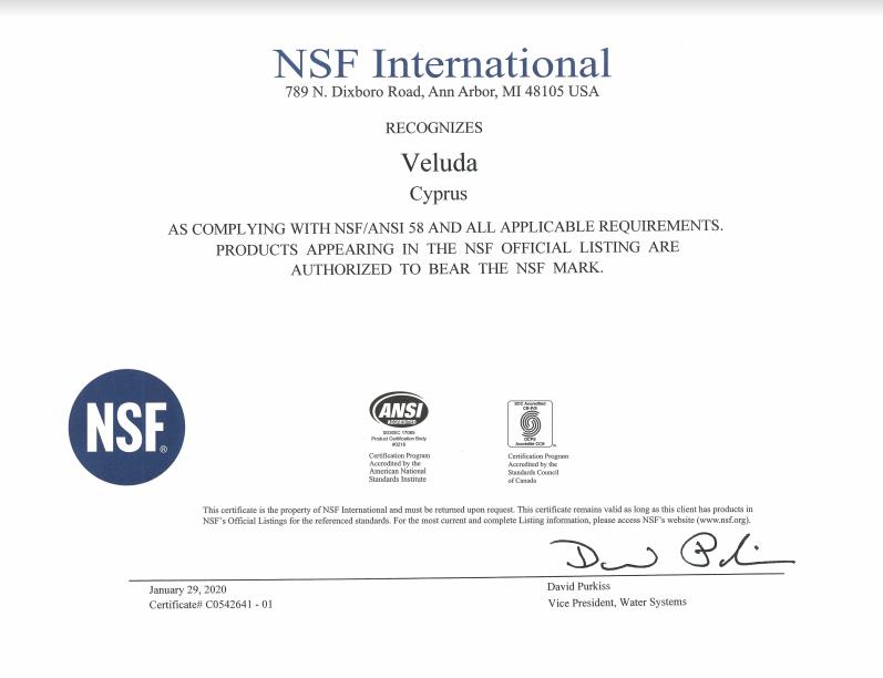 NSF-58-1
